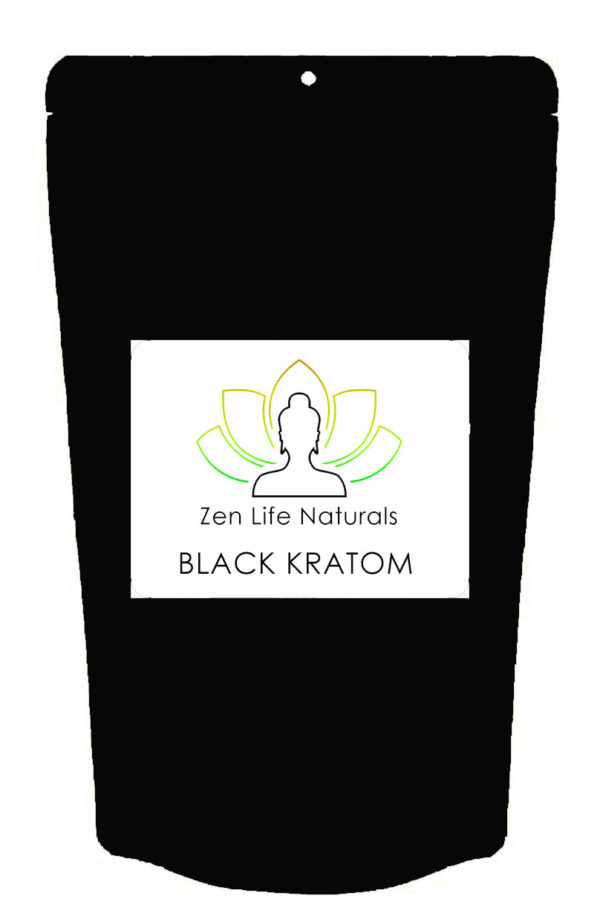 black kratom powder product